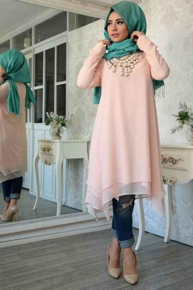 تنسيق الالوان فى الملابس للمحجبات شيء ضروري فكل محجبة تفكر في طريقة ذكية لتنسيق الملابس اليك طرق لكيفية تنس Muslim Women Fashion Hijab Fashion Muslim Fashion