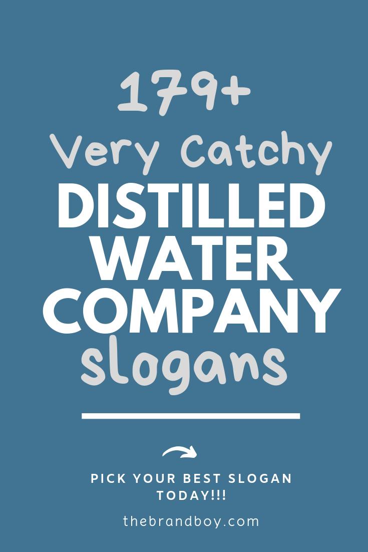 Distilled water business plan