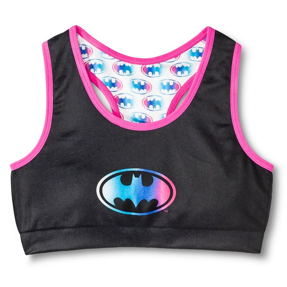 8a6828342c85c Batman Girls  Racer Sports Bra - Multicolored S