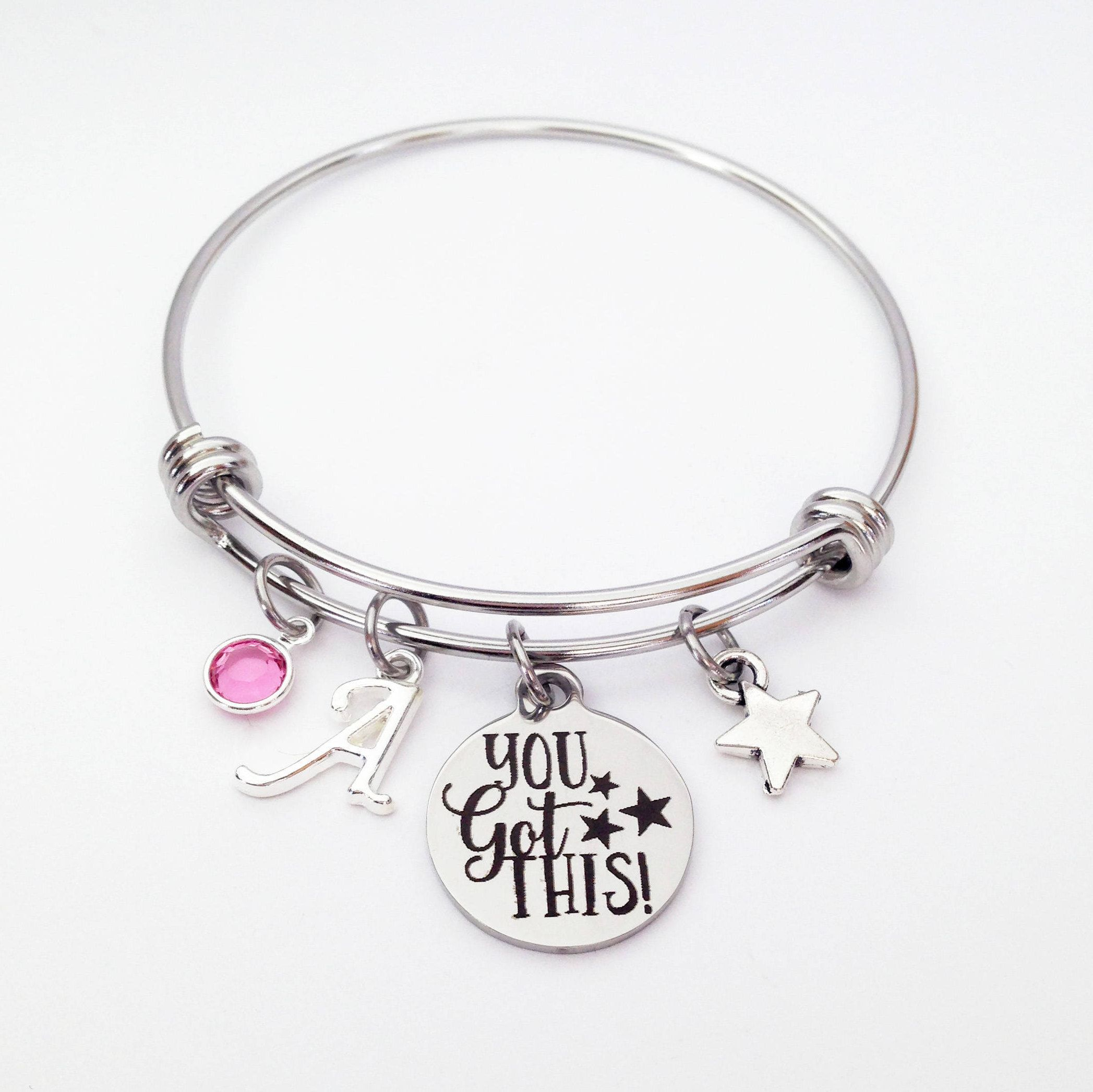 the go products cummings of bracelet heart with graduation in silver e carry hand dreams your i sterling confidently bangle direction poem me stamped