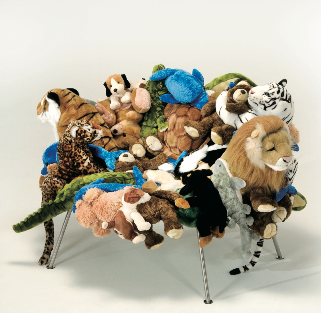 Animal Chairs...there Should Be More Of Them. Comfortable
