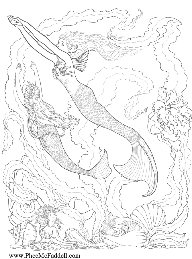 Fantasy Coloring Pages For Adults | ... Fantasy Coloring Pages ...
