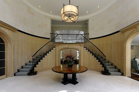 A Gracious Entry Space Need This In My House Entrance Design Building Design House Design
