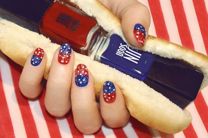Veteran\'s Day Manicures Nail Art | Manicure