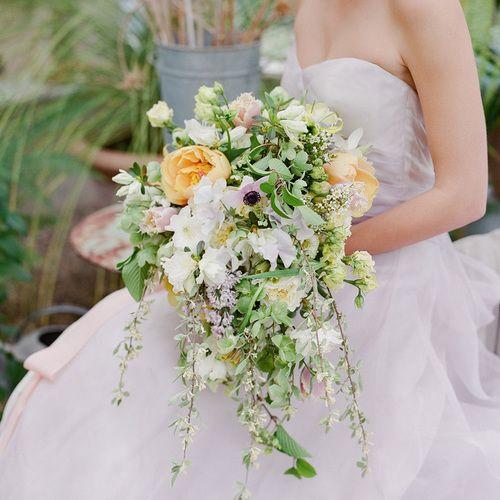 White Wedding Bouquets, Spring