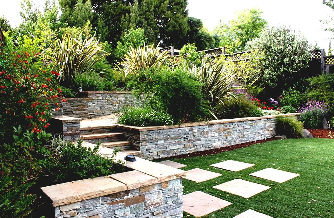 Garden Design On A Slope hillside landscape design landscaping ideas backyard steep slope
