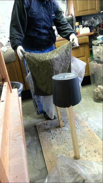vaser i beton del 2 basteln pinterest deko aus beton basteln mit beton und beton deko. Black Bedroom Furniture Sets. Home Design Ideas