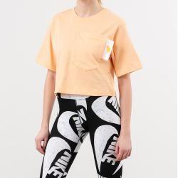 Nike Sportswear Crop Top Orange Chalk/ White/ Laser Orange Nike