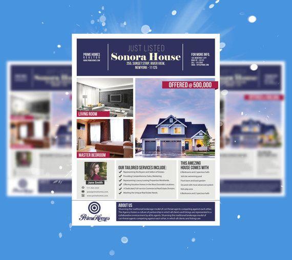 Real Estate Advertising Flyer Template Advertising By Koreev Real