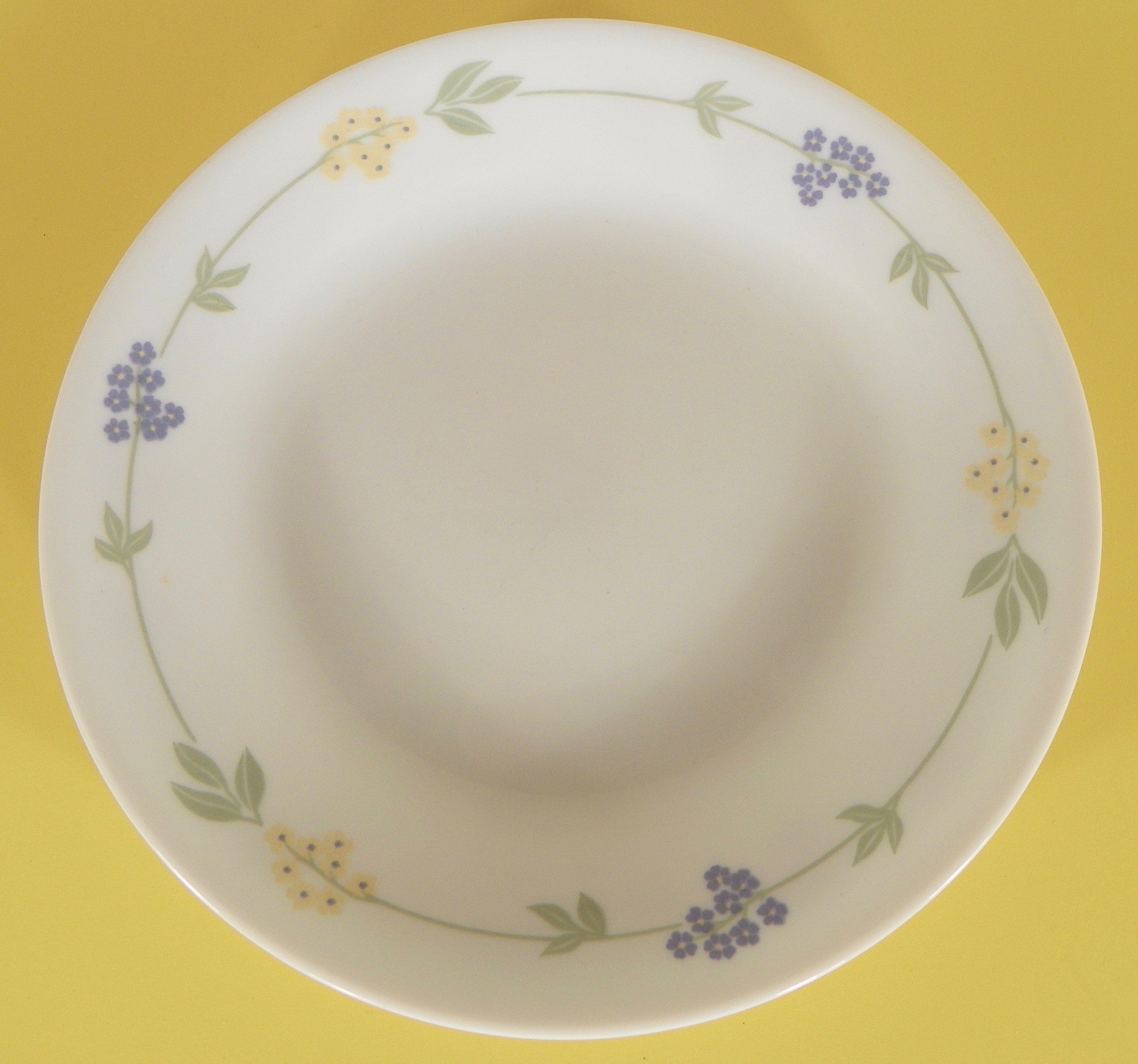 Corelle In The Garden Bread and Butter Plates Set of 4 Corning Ware