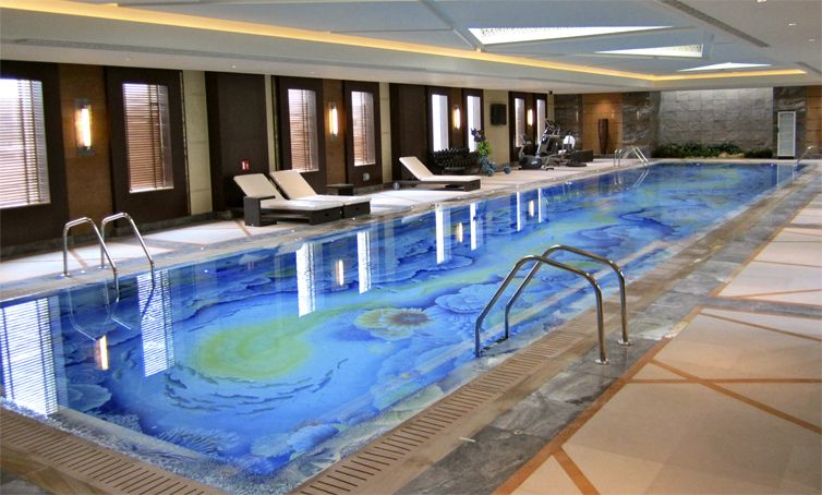 Bon Indoor Swimming Pool Design With Fish, Shells And Coral Reef / Craig Bragdy  Design