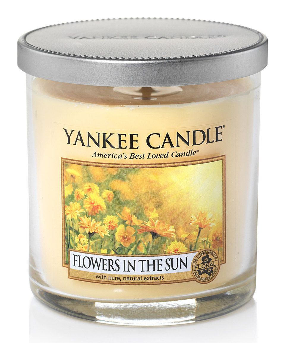 Take a look at this flowers in the sun oz tumbler candle today
