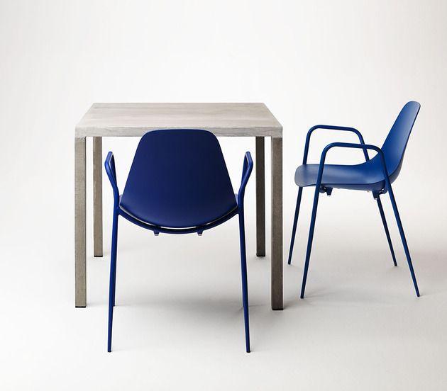 Lackierter Tisch Und Stühle Aus Aluminium Von Opinion Ciatti | Dekoration
