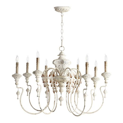Quorum - Persian White Chandelier | lighting | Pinterest ...
