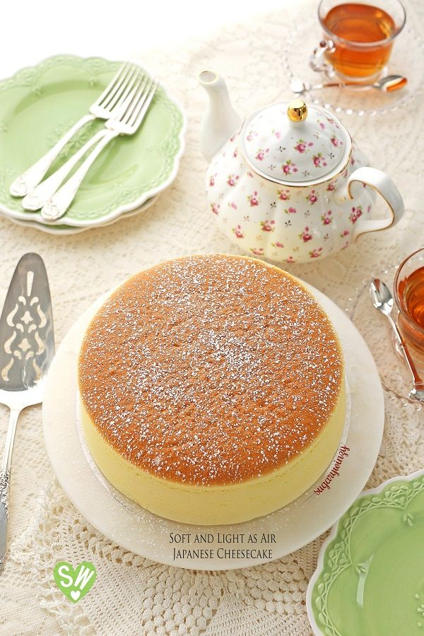 Soft And Light As Air Japanese Cheesecake Recipe Japanese