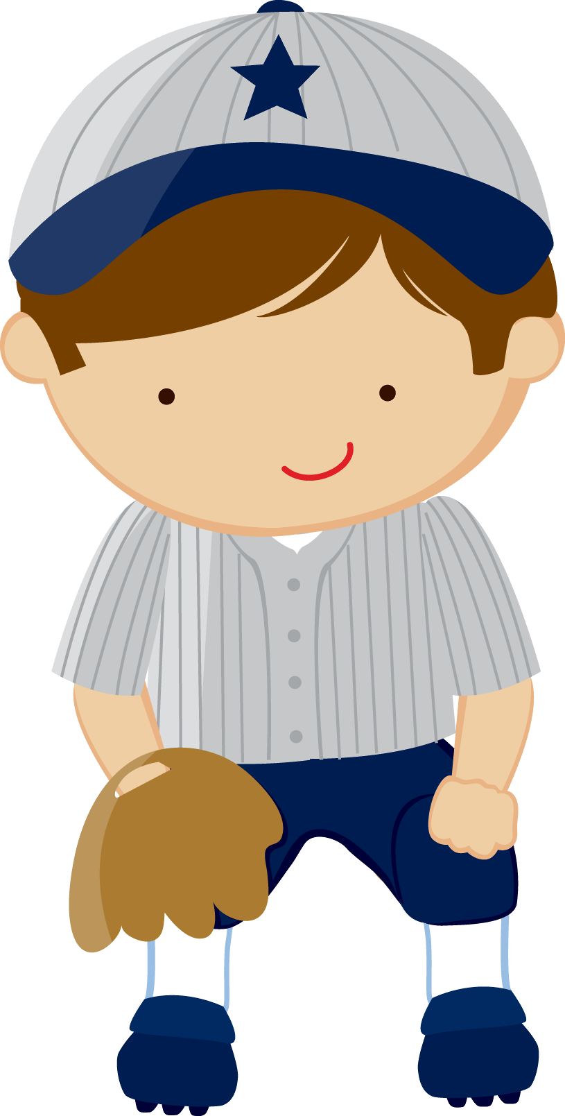 Zwd Fielder Png Baseball Theme Birthday Kids Clipart Baby Boy Baseball