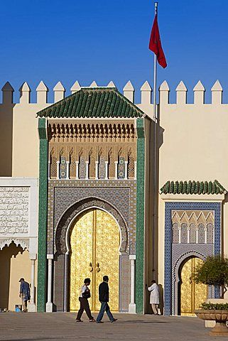 Royal Palace, Fes, Marruecos, África del Norte, África