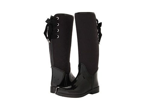 Womens Boots COACH Tristee Black/Black Shiny Rubber