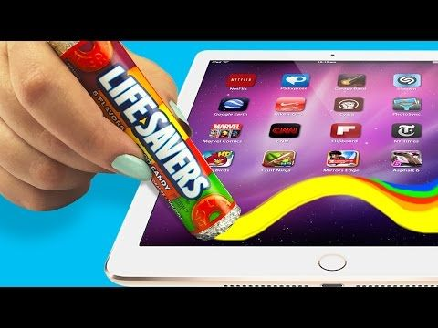 Haz Un Stylus Para Celular Con Dulces Diy Stylus Diy School Supplies Diy Youtube