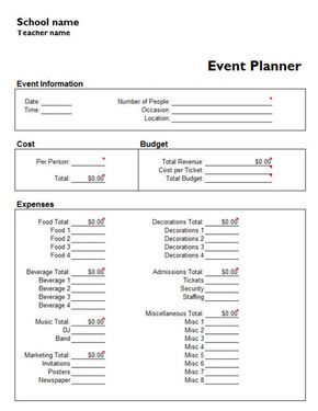 Microsoft Event Planning Template from i.pinimg.com