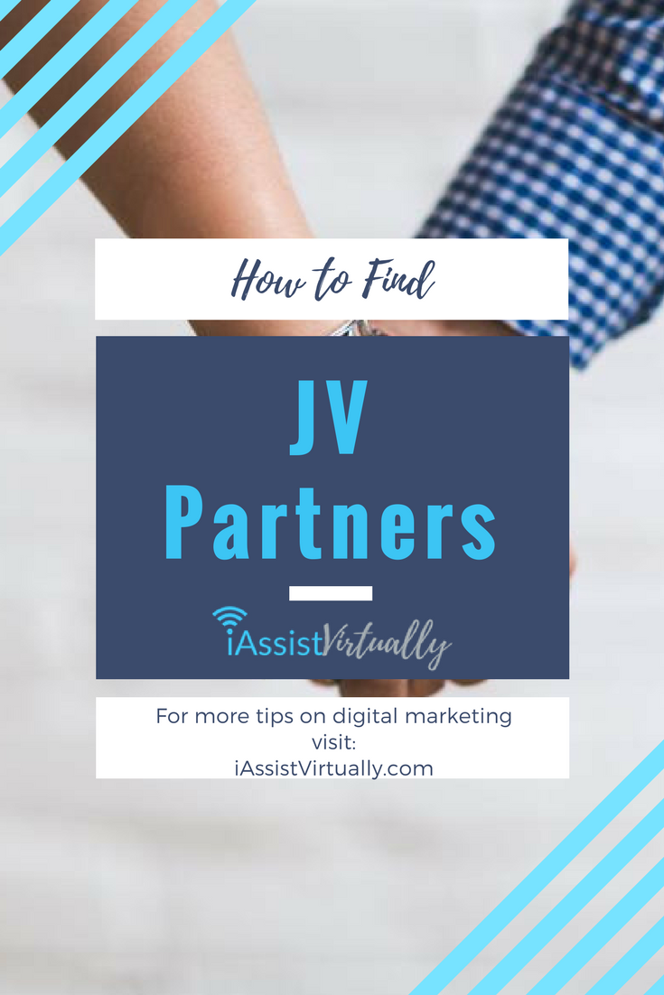 how to find jv partners