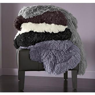 Throw, Indulgence Faux Fur from Montgomery Ward®