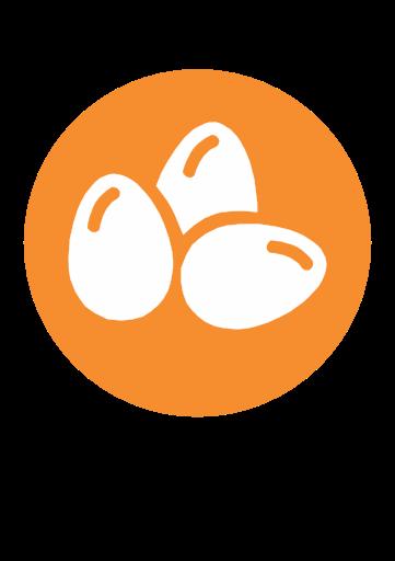 huevo,alergenos,los alergenos | Iconos, Huevo, Logo de granja