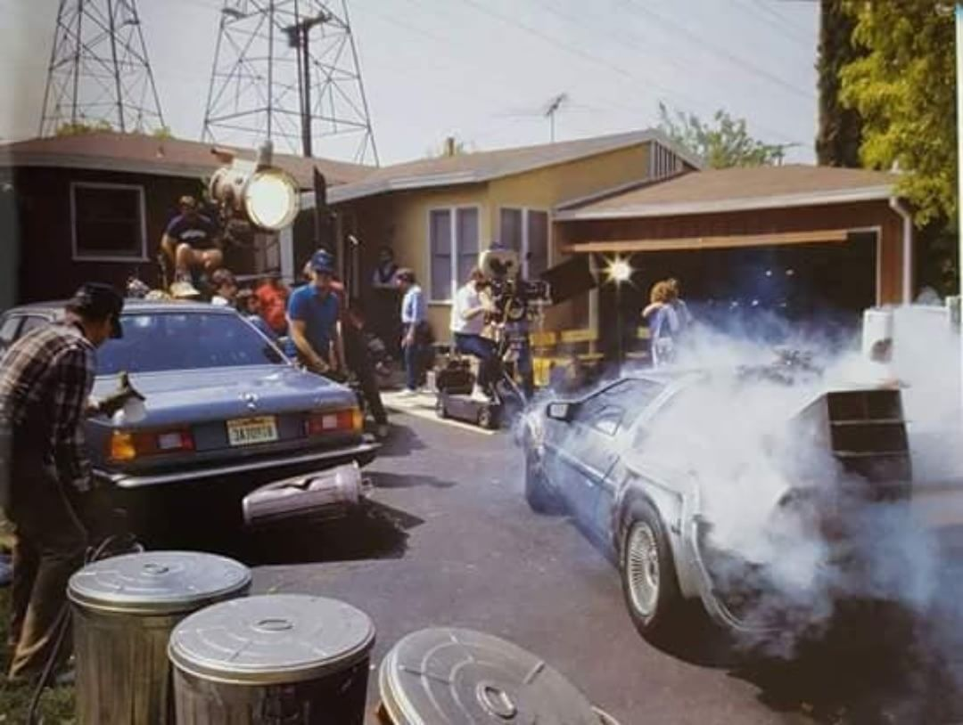 Back To The Future Set With Images Back To The Future The