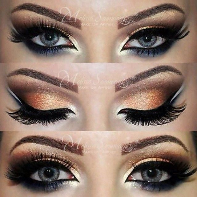 Kiss Out Of Makeup: Beautiful Arabic Inspired Eyes By @makeupbymels , Amazing