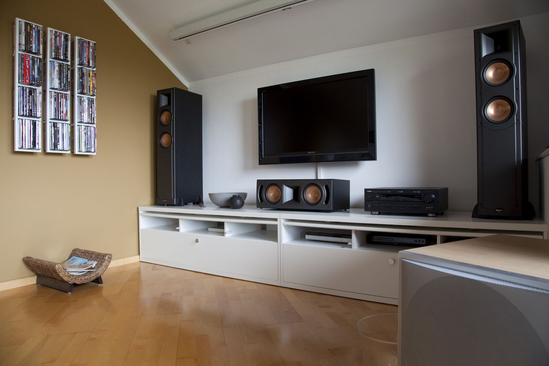 my old klipsch reference series home cinema audiophile pinterest heimkino heim und. Black Bedroom Furniture Sets. Home Design Ideas