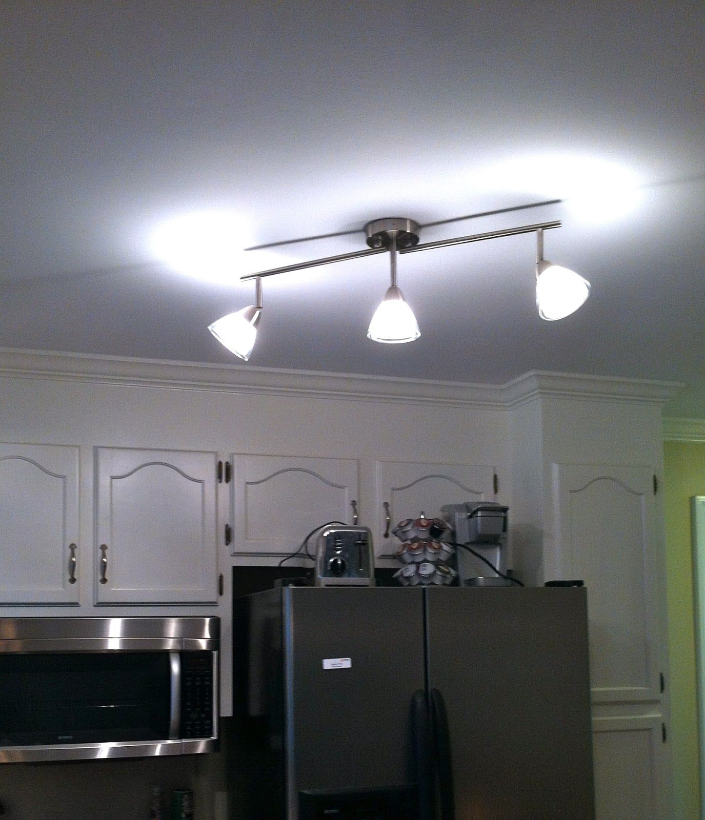 All Of The Lights Kitchen Lighting Fixtures Track Bright