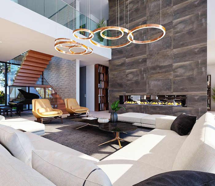 Moderne Häuser Beste Innengestaltung Ideen Interieur