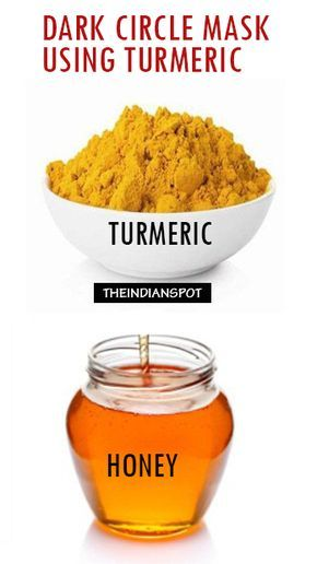 Get rid of Dark circles with Turmeric (With images) | Dark ...