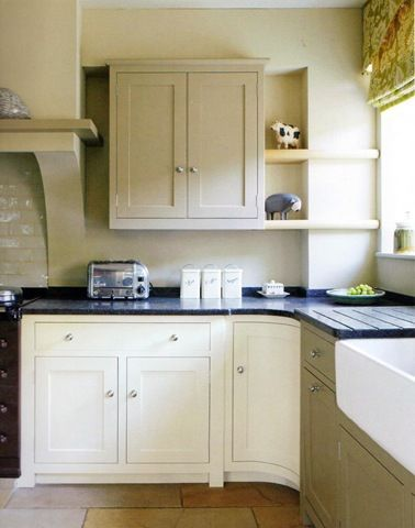 Kitchen Units In Farrow And Ball Matchstick