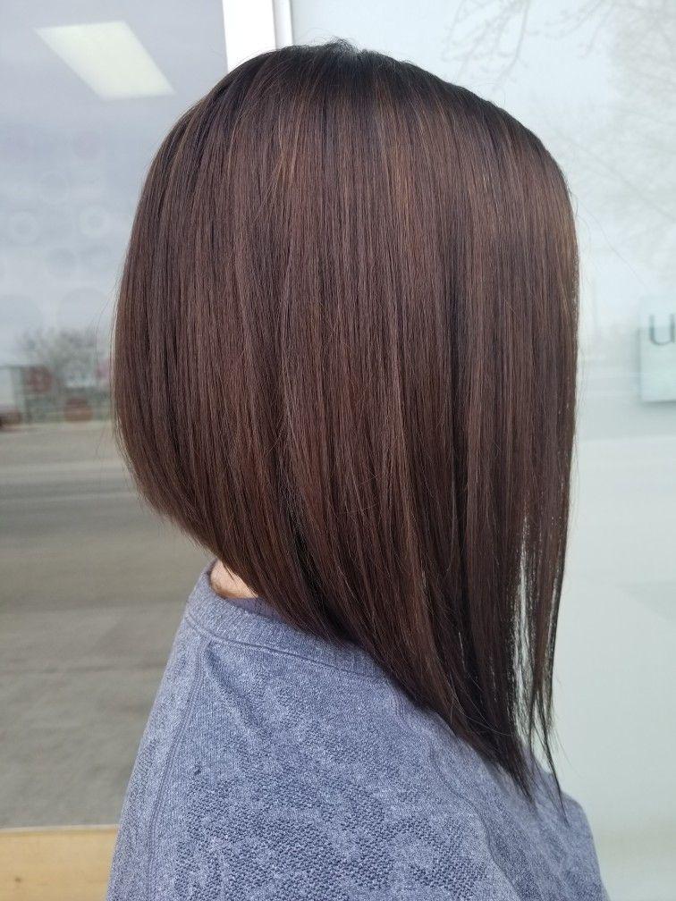 Hair by Karen. Inverted bob.