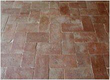 Cod tc antiche piastrelle rettangolari in cotto piemontese di
