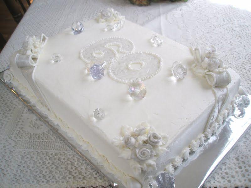 wedding favors cheap: 60th wedding anniversary decorations | Cake ...
