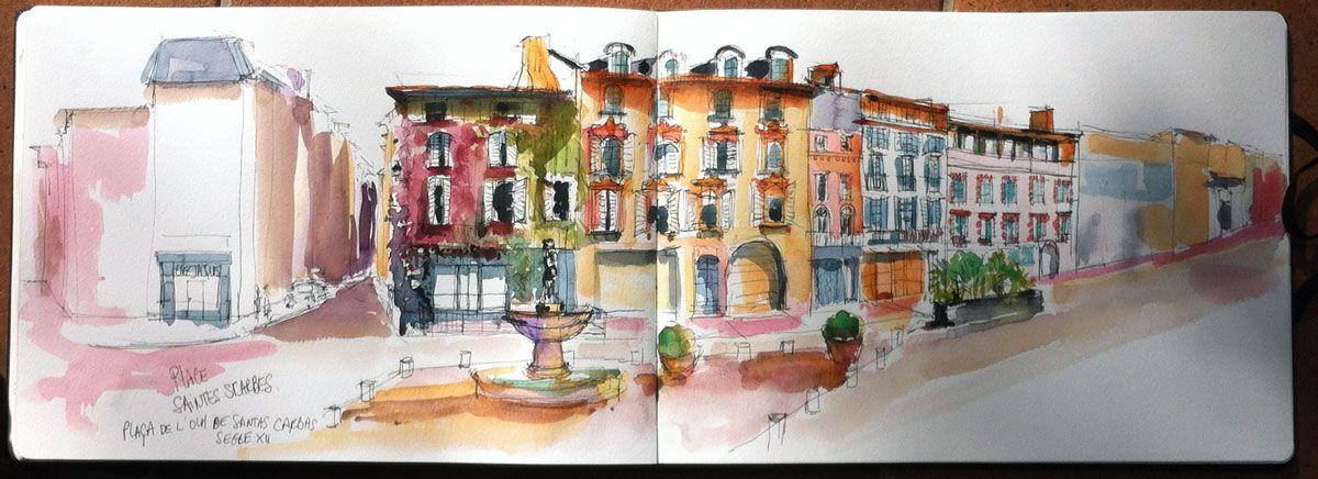 Place Saintes Scarbes Ou Sainte Scarbes Toulouse Virginie Schroeder