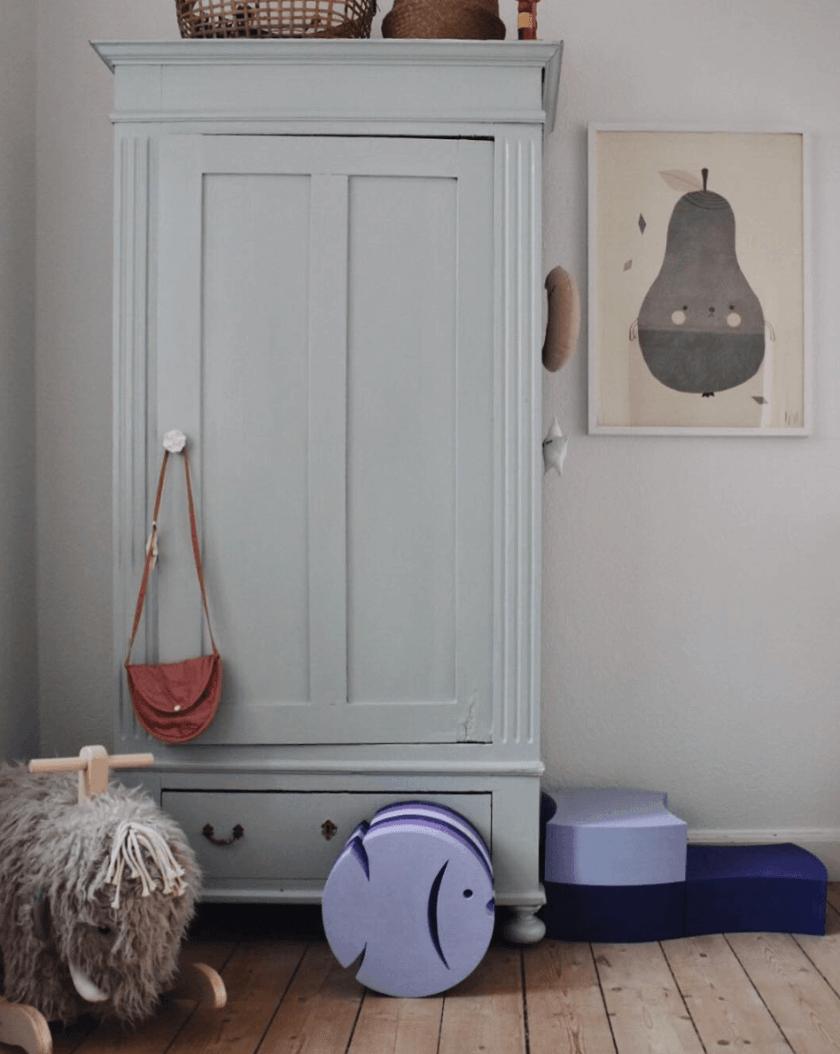 DIY fürs Kinderzimmer // Alte Schränke, neue Liebe | Kinderzimmer ...