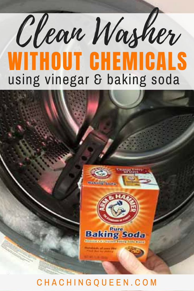 Guide On How To Clean Washing Machine With Vinegar And Baking Soda Clean Washer Clean Washing Machine Cleaning Hacks