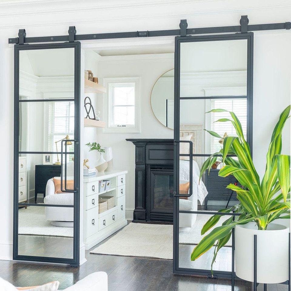 39++ Double sliding glass barn doors ideas in 2021