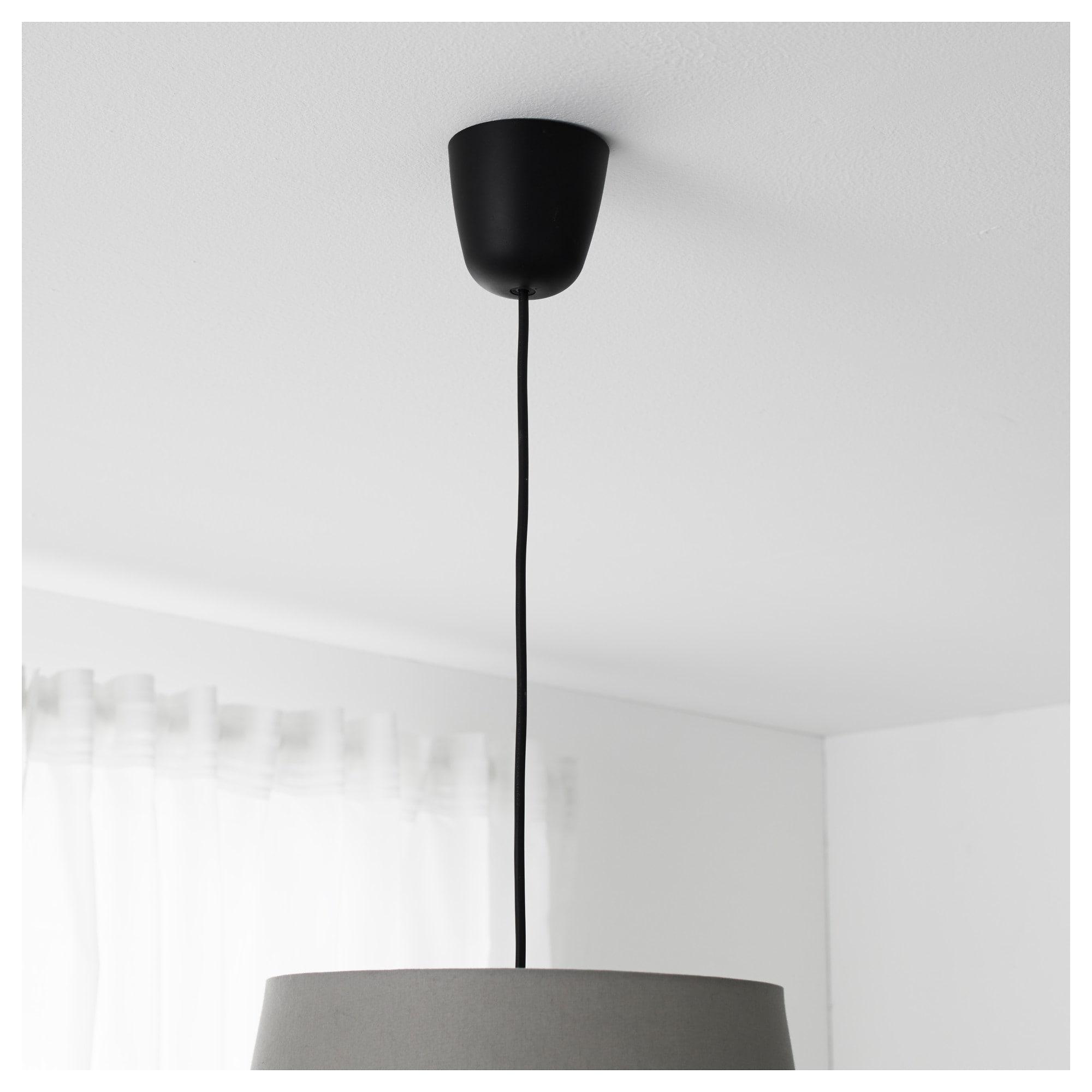 IKEA HEMMA Cord set black   Pendant lamp, Bulb, Ikea