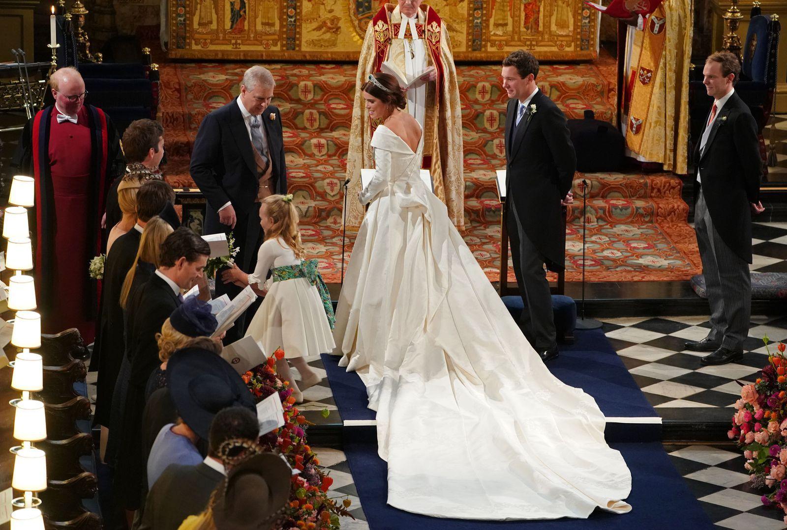 Princess Eugenie Is More Than Queen Elizabeth S Granddaughter Eugenie Wedding Royal Wedding Dress Princess Eugenie [ jpg ]