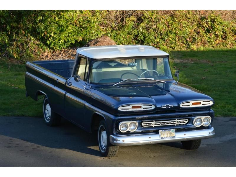1961 C10 Chevy Pick Up Truck Restomod For Sale Chevy Trucks Old