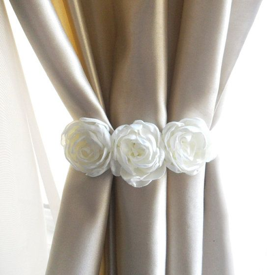Flower Curtain Tie BackSet Of 2 PcsCurtain Tie By