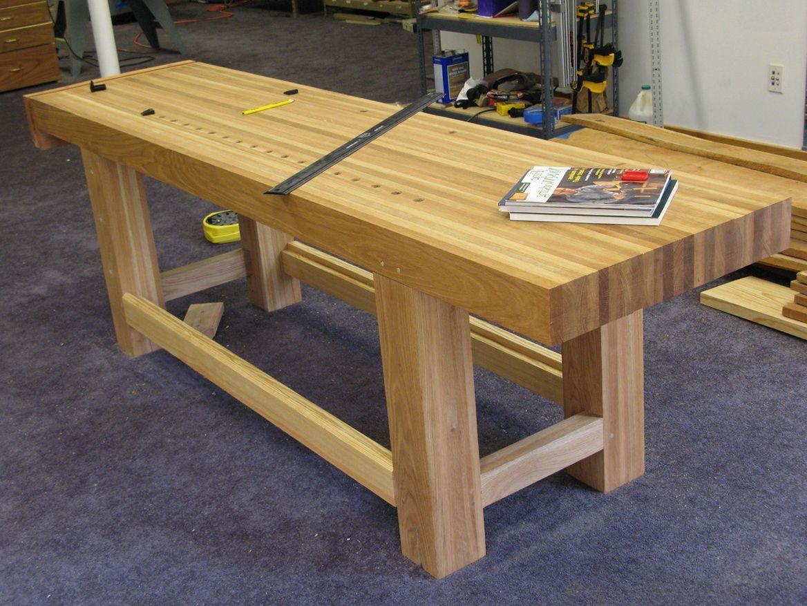 Garage Work Bench Top Woodworking Bench Plans Wooden Work Bench