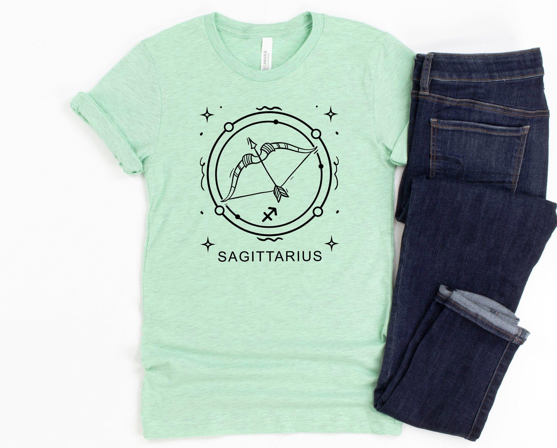 Sagittarius Zodiac Ladies Short Sleeve t-Shirt
