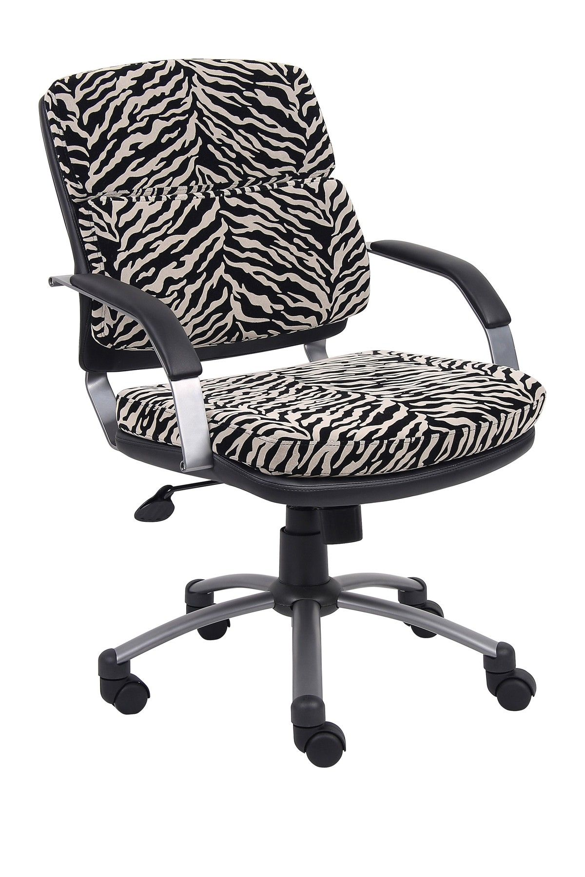 Boss office chairs presidential midback microfiber arm
