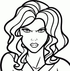 How To Draw Black Widow Scarlett Johansson Step By Step