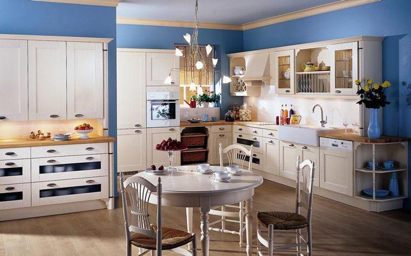 kitchen - favorite blue Kitchen ideas Pinterest French country